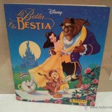 Coleccionismo Álbumes: ALBUM LA BELLA Y LA BESTIA NUEVO VER FOTOS. Lote 48670934