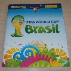 Coleccionismo Álbumes: ALBUM DE CROMOS VACÍO FIFA WORLD CUP BRASIL MUNDIAL PANINI 2014. Lote 48712496