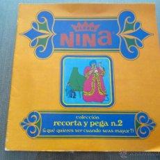 Coleccionismo Álbumes: ANTIGUO ALBUM CROMOS FLEER NINA - AÑO 1969. Lote 48733767