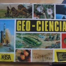 Coleccionismo Álbumes: ALBUM DE CROMOS GEO-CIENCIAS DE 1967. Lote 48827493