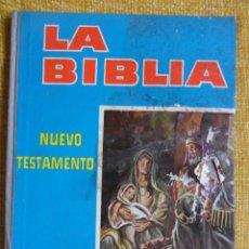 Coleccionismo Álbumes: LA BIBLIA. NUEVO TESTAMENTO. ALBUM DE CROMOS DE CHOCOLATES VIRGINIAS, DULCES RODRIGUEZ HERMANOS, REU. Lote 48902033