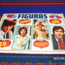 Coleccionismo Álbumes: FIGURAS INCOMPLETO FALTAN 17 DE 211 CROMOS. ESTE 1975. RARO.. Lote 48960917