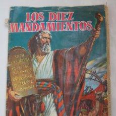 Coleccionismo Álbumes: ALBUM DE CROMOS LOS DIEZ MANDAMIENTOS, BRUGUERA 1959 INCOMPLETO. Lote 48996066