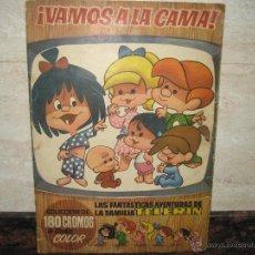 Coleccionismo Álbumes: ALBUM DE LA FAMILIA TELERIN VAMOS A LA CAMA.. Lote 49444260