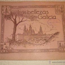 Coleccionismo Álbumes: LAS BELLEZAS DE GALICIA. - REF. 42343. JUAN GIL CAÑELLAS. ÁLBUM DE CROMOS INCOMPLETO. VIAJES.. Lote 49454652