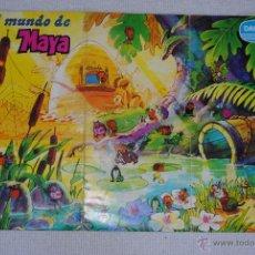 Coleccionismo Álbumes: ALBUM EL MUNDO DE MAYA DANONE CON 32 CALCAMOMIAS EL PASATIEMPO SIN HACER . Lote 49487242