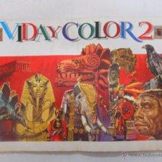 Coleccionismo Álbumes: ÁLBUM DE CROMOS VIDA Y COLOR 2. - ED. ÁLBUMES ESPAÑOLES, 1968. TIENE 164 DE 484 CROMOS. TDKC5. Lote 49556151