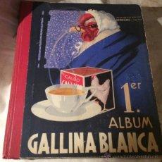 Coleccionismo Álbumes: PRIMER ALBUM GALLINA BLANCA.. Lote 49564311
