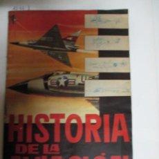 Coleccionismo Álbumes: ÁLBUM DE CROMOS HISTORIA DE LA AVIACIÓN. Lote 49568046