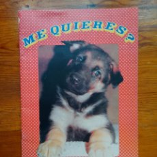Coleccionismo Álbumes: ALBUM ME QUIERES, SOBRE PERROS, DE ED. DALSA. VACÍO. EN MUY BUEN ESTADO, SIN USO. Lote 49655872