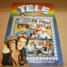 Coleccionismo Álbumes: ALBUM TELE POPBUEN ESTADO SOLO FALTAN 20 CROMOS. Lote 49911319