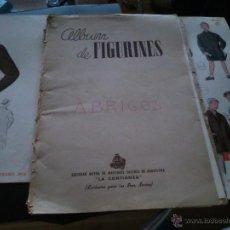 Coleccionismo Álbumes: * ALBUM DE FIGURINES. 12 LAMINAS DE LA CONFIANZA Y HOMBRE. Lote 49986285