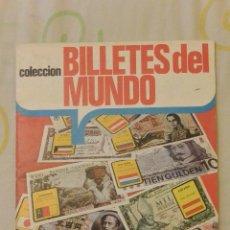 Coleccionismo Álbumes: ALBUM CROMOS COLECCION BILLETES DEL MUNDO. Lote 49986655