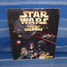 Coleccionismo Álbumes: STAR WARS - ALBUM CROMOS STAR WARS LA GUERRA DE LAS GALAXIAS AÑO 1997-FALTAN 81 CROMOS DE 156- 111-1. Lote 50036611