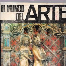 Coleccionismo Álbumes: ALBUM. EL MUNDO DEL ARTE. INCOMPLETOS. 254 DE 280 CROMOS. 26,5 X 24,1 CM. Lote 98807936