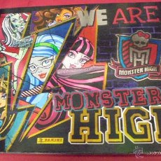 Coleccionismo Álbumes: ALBUM WE ARE MONSTER HIGH. INCOMPLETO. PANINI. Lote 50164811