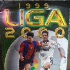 ALBUM CROMOS. LIGA 1999-2000. PRIMERA DIVISIÓN. LFP. INCOMPLETO.