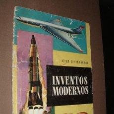 Coleccionismo Álbumes: ALBUM INVENTOS MODERNOS,FALTAN 12 CROMOS. Lote 50243295