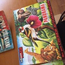 Coleccionismo Álbumes: PANORAMAS DE ANIMALES Y PLANTAS UNOS 100 CROMOS BUEN ESTADO. Lote 50246634