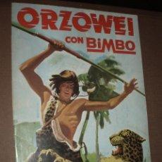 Coleccionismo Álbumes: ALBUM ORZOWEI CON BIMBO. Lote 50264228