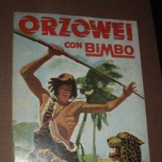 Coleccionismo Álbumes: ALBUM ORZOWEI CON BIMBO. Lote 50264308