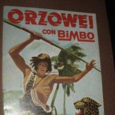 Coleccionismo Álbumes: ALBUM ORZOWEI CON BIMBO INCOMPLETO. Lote 50264323