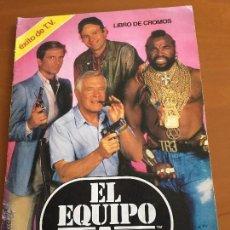Coleccionismo Álbumes: EL EQUIPO A ALBUM CON 43 CROMOS IMPECABLE SE VENDEN CROMOS SUELTOS. Lote 209660523