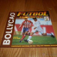 Coleccionismo Álbumes: ALBUM BOLLYCAO FUTBOL LIGA 96-97 PERFECTO PLANCHA. Lote 50432558