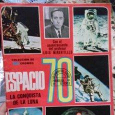 Coleccionismo Álbumes: ALBUM ESPACIO 70 LA CONQUISTA DEL ESPACIO. Lote 50461503
