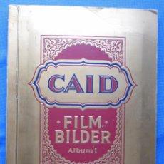 Coleccionismo Álbumes: ALBUM INCOMPLETO. CAID FILM BILDER. ACTORES, ARTISTAS DE CINE. CIGARRILLOS CAID. ALBUM 1.. Lote 50636674