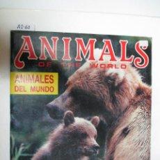 Coleccionismo Álbumes: ÁLBUM DE CROMOS ANIMALES DEL MUNDO. Lote 50670518