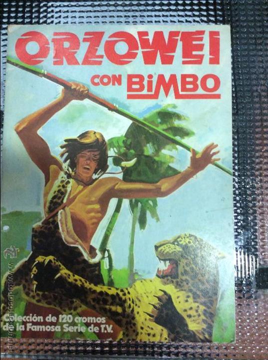 ALBUM ORZOWEI CON BIMBO (Coleccionismo - Cromos y Álbumes - Álbumes Incompletos)