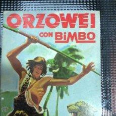 Coleccionismo Álbumes: ALBUM ORZOWEI CON BIMBO. Lote 50697293