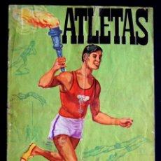Coleccionismo Álbumes: ALBUM ATLETAS TOKIO 1964. CON 95 CROMOS DE 120. 1964. FHER-DISGRA.. Lote 50719936