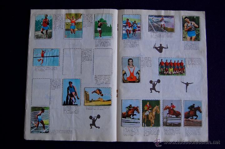 Coleccionismo Álbumes: ALBUM ATLETAS TOKIO 1964. CON 95 CROMOS DE 120. 1964. FHER-DISGRA. - Foto 5 - 50719936