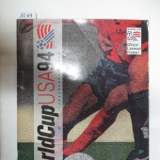 Coleccionismo Álbumes: ÁLBUM DE CROMOS WORLDCUP USA 94. Lote 50744886