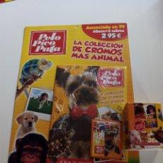 Coleccionismo Álbumes: ÁLBUM Y CAJA DE 36 SOBRES PELO PICO PATA. NO BLISTER. Lote 114906008