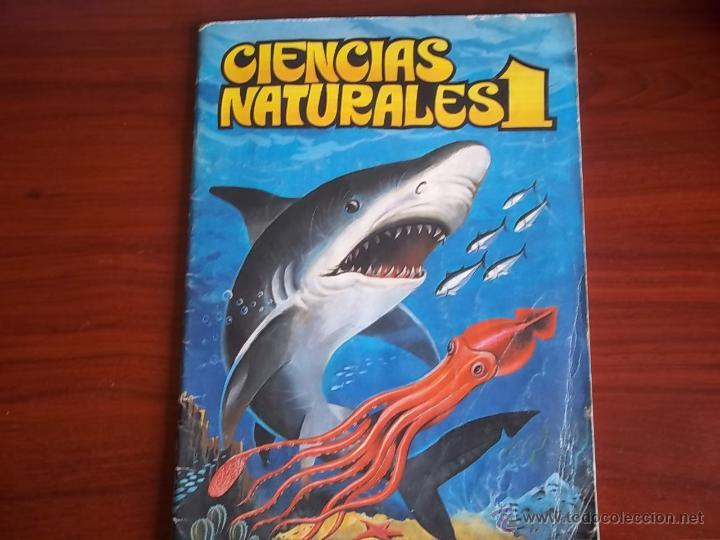 ALBUM CIENCIAS NATURALES 1 - EDIC. EASO 1982 ( A-3 (Coleccionismo - Cromos y Álbumes - Álbumes Incompletos)
