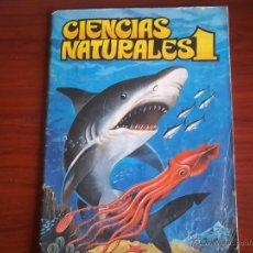 Coleccionismo Álbumes: ALBUM CIENCIAS NATURALES 1 - EDIC. EASO 1982 ( A-3. Lote 214326007