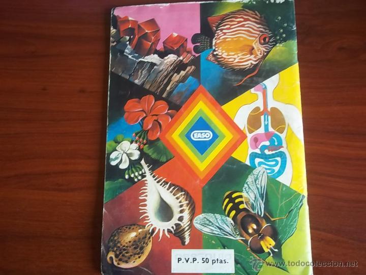 Coleccionismo Álbumes: ALBUM CIENCIAS NATURALES 1 - EDIC. EASO 1982 ( A-3 - Foto 3 - 214326007