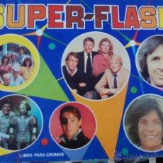 Coleccionismo Álbumes: ALBUM SUPER FLASH SUPER-FLASH ED MAGA 1980 INCOMPLETO MUY BUEN ESTADO, CON FOTOS DE TODOS LOS CROMOS. Lote 51199990