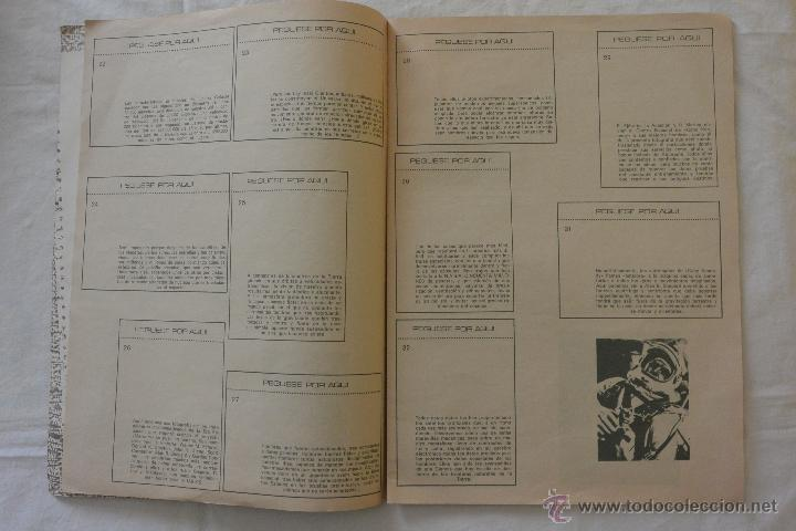 Coleccionismo Álbumes: ALBUM CROMOS ESPACIO 70 - Foto 2 - 51208645
