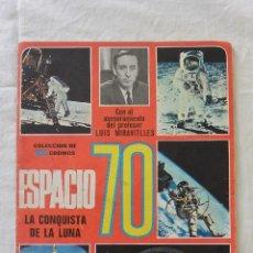 Coleccionismo Álbumes: ALBUM CROMOS ESPACIO 70. Lote 51208645