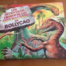 Coleccionismo Álbumes: LOS AUTENTICOS CROMOS DE LOS DINOSAURIOS DE BOLLYCAO 42 CROMOS SE VENDEN SUELTOS. Lote 51349422