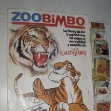 Coleccionismo Álbumes: ALBUM ZOOBIMBO ZOO BIMBO VACIO MAS 100 CROMOS PARA PEGAR. Lote 51662947