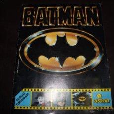 Coleccionismo Álbumes: WWW ALBUM BATMAN DE ASTON EN MUY BUEN ESTADO CON 80 DE 162 CROMOS. Lote 51708663