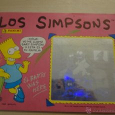 Coleccionismo Álbumes: ALBUM LOS SIMPSONS AÑO 1991 DE PANINI INCOMPLETO. Lote 51764616