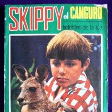 Coleccionismo Álbumes: ALBUM SKIPPY EL CANGURO. CON 94 DE 110 CROMOS. 1972.FHER. TELEFILM DE LA T.V. -SOLO FALTAN 16 CROMOS. Lote 51783552