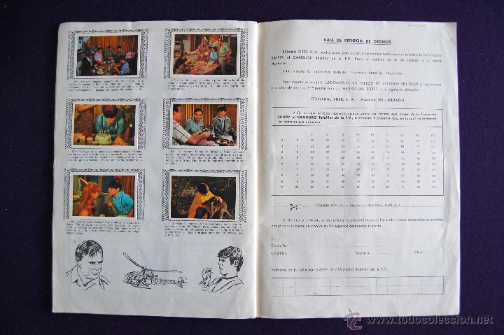 Coleccionismo Álbumes: ALBUM SKIPPY EL CANGURO. CON 94 DE 110 CROMOS. 1972.FHER. TELEFILM DE LA T.V. -SOLO FALTAN 16 CROMOS - Foto 11 - 51783552