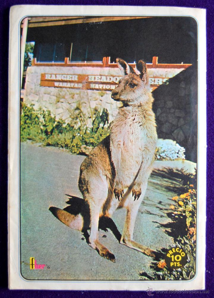Coleccionismo Álbumes: ALBUM SKIPPY EL CANGURO. CON 94 DE 110 CROMOS. 1972.FHER. TELEFILM DE LA T.V. -SOLO FALTAN 16 CROMOS - Foto 13 - 51783552